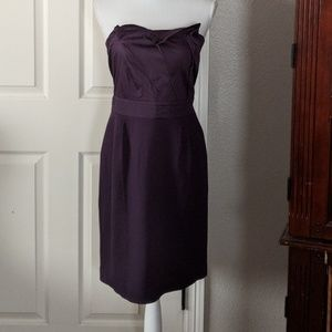 Anthropologie strapless dress size small NWT